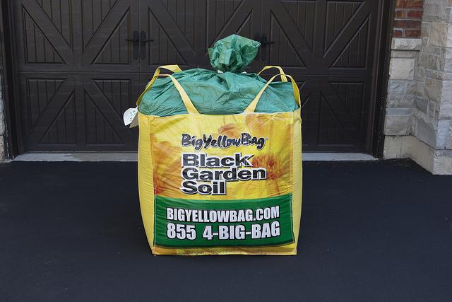 BigYellowBag Details Quality Black Garden Soil