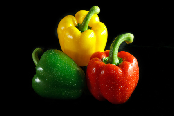 Peppers Green Red Yellow BigYellowBag Black Garden Soil Big Bag