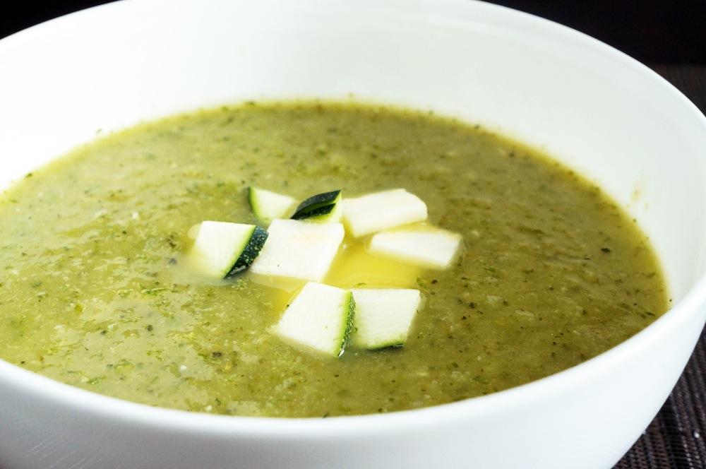 zucchini soup BigYellowBag Black Garden Soil